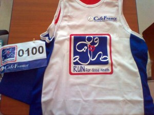 Join the Run For Good Health for only PHP 300.00!