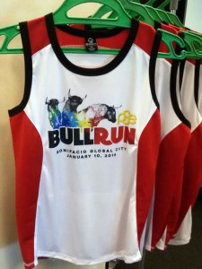 The actual singlet for all participants will inspire one to run faster!